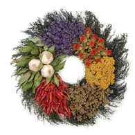 Herbal Garden Wreath - 16 in