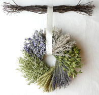 Hearland Wreath with Birch Twig Hanger