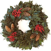 Holiday Berry Christmas Wreath