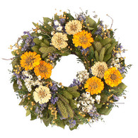 Katies Garden Wreath - 16 in