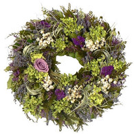 Lavender Brook Wreath - 16 in