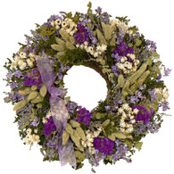 Lavender Brook Wreath - 16 in WFLAVEBWOD