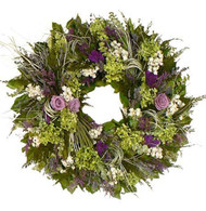 Lavender Brook Wreath - 22 inch