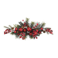 Madelines Apple Berry Holiday Swag 30 inch