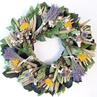 Mansfield Bundle of Lavender Wreath 22 inch