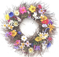 McKenna Spring Wreath - 18 in