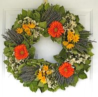 Summer Glory Wreath - 22 in.
