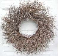 Quail Brush Twig Wreath -18 - 22 in