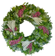 Village Market Flower Wreath - 24 in.