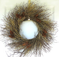 Winter Woodland Wreath - 30 in