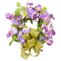 Bel Air Petunia Silk Spring Front Door Wreath