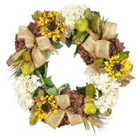 Fallston Silk Autumn Front Door Wreath