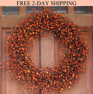 Weston Fall Berry Wreath 22 inches