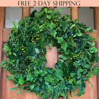 Fairmont Front Door Wreath