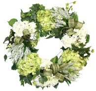 Merced Silk Front Door Spring Wreath (24 Inch)