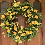 Wyndale Spring Front Door Wreath - 24 in