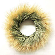Double Wheat Wreath 22 inch