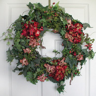 Albany Silk Door Wreath - 22 in