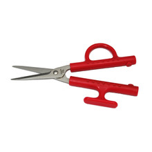 Kitchen Scissor.  Utility Scissor.  Red handle.