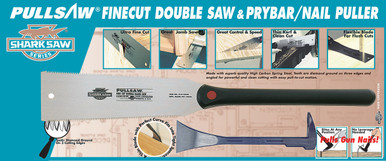 Combination of Double Saw & Pry Bar Nail Puller. 10-2440 & 21-2220