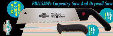 """58-9020  Carpentry saw and Dry wall saw.  Consists of:  10-2312  Carpentry saw 12"""", 14 tpi  10-2206  Dry Wall saw  6"""", 7 tpi"""