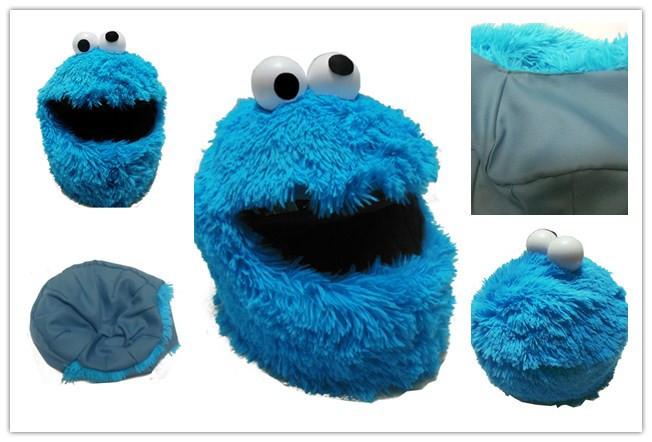 Cookie Monster Motorcycle Helmet Cover
