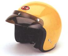 Yellow Motorcycle Helmet