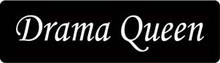 Drama Queen Motorcycle Helmet Sticker