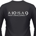 A 10 is A 9 that Swallows T-SHIRT