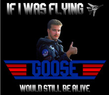If I was flying Goose would still be alive shirt