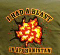I had a blast in Afghanistan t-shirt