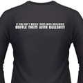 If You Can't Dazzle Them With Brilliance Baffle Them With Bullshit! Biker T-Shirt