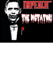 Impeach the Dictator Biker T-Shirt
