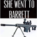 She Went to Barrett Shirt