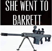 She Went to Barrett Shirt