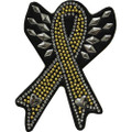 Support our Troops Rhinestone Helmet Patch