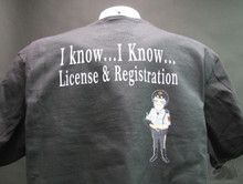 I know I Know license and registration