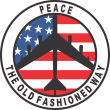 peace the old fashioned way shirt