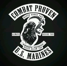 Combat Proven US Marine Tshirt