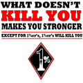 What doesn't kill you makes you stronger except 1%ers Shirt