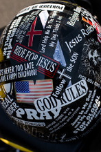 Pack of 31 Different Christian Motorcycle Helmet Sticker