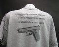 Condoms Don't guarantee safe sex anymore...a friend of mine was wearing one when he was shot by the woman's husband shirt.