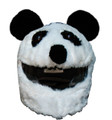 panda bear motorcycle helmet cover