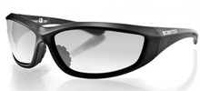 Charger Sunglasses, Blk Frame, Anti-fog Clear Lens, ANSI Z87