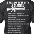 10 Reasons to be With a Marine Shirt