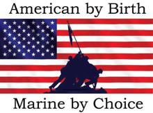 American by birth Marine by Choice shirt