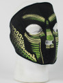 Snake Face Neoprene Face Mask