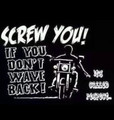 screw you if you Don't wave back it's called respect shirt