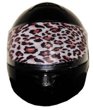 Cheetah Motorcycle Helmet Visors Sticker