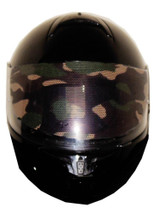 Camo Motorcycle Helmet Visors Sticker